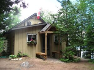 LAKEFRONT COTTAGE AND BOATHOUSE  has FALL AVAILABILITY