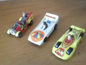 Corgi Tom & Jerry, Penguin and Shazam toy vehicles