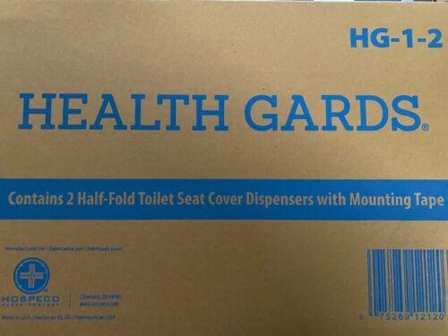 HOSPECO HG12 2-Pc. Health Gards Toilet Seat Cover Dispenser BUY MORE & SAVE 15%!