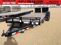 "18' x 6"" Channel Custom PJ Carhauler Trailer, 14K GVWR (CCJ) Calgary Alberta Preview"