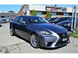 2014 LEXUS IS250 AWD | NAVIGATION | NO ACCIDENT HISTORY