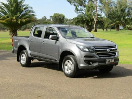 2017 Holden Colorado RG MY17 LS Pickup Crew Cab Grey 6 Speed Sports Automatic Utility Murray Bridge Murray Bridge Area Preview