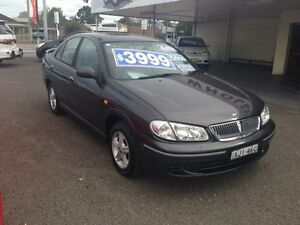 2000 Nissan Pulsar N16 Q Grey 4 Speed Automatic Sedan Broadmeadow Newcastle Area Preview