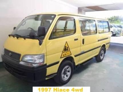 1997 Toyota Hiace 4wd, 4x4, turbo intercooled diesel campervan