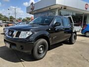 2013 Nissan Navara D40 S8 RX Black 5 Speed Automatic Cab Chassis Aspley Brisbane North East Preview