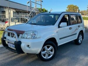 2006 Nissan X-Trail T30 MY06 ST (4x4) White 4 Speed Automatic Wagon St James Victoria Park Area Preview