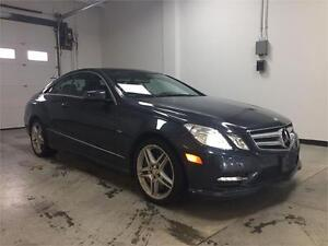 2012 Mercedes Benz E550 coupe,only15kms,Fully loaded,rare!