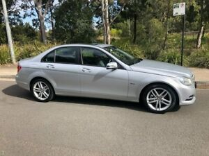 2012 Mercedes-Benz C-Class W204 C200 BlueEFFICIENCY Sedan 4dr 7G-TRONIC + 7sp 1.8T [MY1 Arncliffe Rockdale Area Preview
