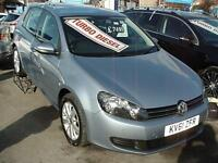 2011 VOLKSWAGEN GOLF 2.0 TDi 140 BlueMotion Tech Match SAT NAV