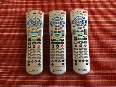 Charter Communications Remote Control  Lot Of 3   Used