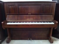 Bechstein Upright Piano in a beautiful rosewood case