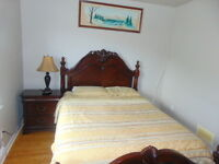 Furnished 2 bedrooms available for short term rent -