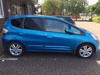 Honda Jazz I-VTEC EX, PETROL 5 DOOR 1339CC PETROL 2008 BUT 2009 MODEL 56500 MILES