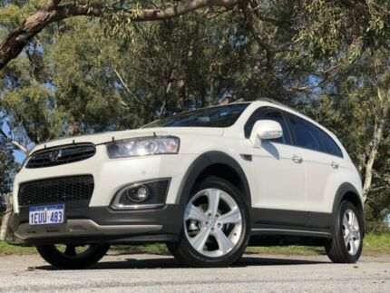 2015 Holden Captiva CG MY15 7 LTZ (AWD) White 6 Speed Automatic Wagon Kenwick Gosnells Area Preview