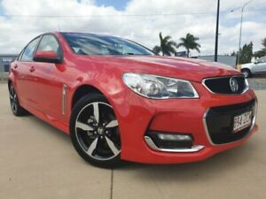 2017 Holden Commodore VF II MY17 SV6 Red 6 Speed Sports Automatic Sedan Garbutt Townsville City Preview