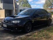 2011 Subaru Impreza G3 MY11 WRX AWD Black 5 Speed Manual Sedan Hillcrest Port Adelaide Area Preview