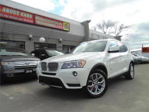 2011 BMW X3 2.8I  **NAVI+PANO+CAMERA**