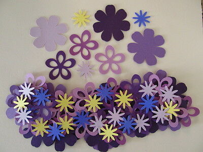 - 75 Diecuts to Make 25 Layered Flowers-Decorations, Scrapbooking, Cards, Crafts