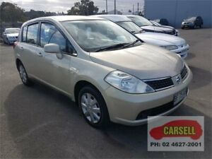 2009 Nissan Tiida C11 MY07 ST Gold 4 Speed Automatic Hatchback Campbelltown Campbelltown Area Preview