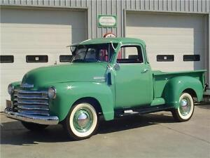 1950 CHEVY 1/2 TON 3100 5 WINDOW PICK UP