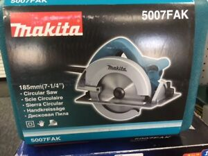 MAKITA 5007FAK 185mm CIRCULAR SAW WITH CASE! Brand New!