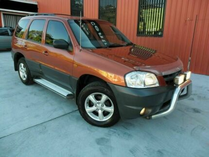 2005 Mazda Tribute MY2004 Limited Sport Bronze 4 Speed Automatic Wagon Molendinar Gold Coast City Preview