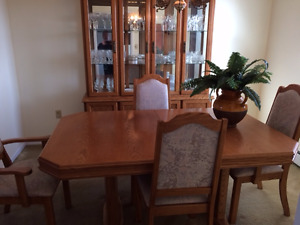 10 Piece Oak Dining Room set