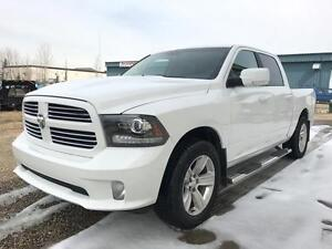 2013 Ram 1500 Sport 4x4 ~ Heated Leather Tow Package $224 B/W