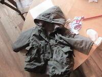 Manteau d'automne bébé fille Confetti