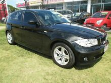 2006 BMW 118i E87 Black 6 Speed Automatic Hatchback Kippa-ring Redcliffe Area Preview