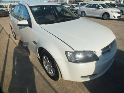 2010 Holden Commodore VE MY10 Omega White 6 Speed Automatic Sedan Bohle Townsville City Preview