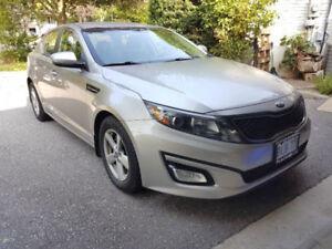 Urgent - 2014 Kia Optima Sedan Must go due to moving