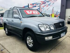 2001 Lexus LX470 UZJ100R (4x4) 4 Speed Automatic 4x4 Wagon Brooklyn Brimbank Area Preview