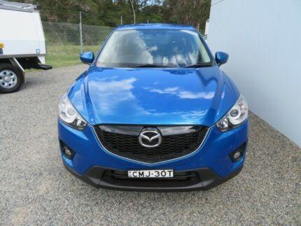 2013 Mazda CX-5 KE1021 Maxx SKYACTIV-Drive AWD Sport Blue 6 Speed Sports Automatic Wagon Glendale Lake Macquarie Area Preview