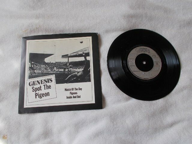 S 353 Vinyl 7inch 45 Match Of The Day / Pigeons / Inside And Out – Genesis  Charisma GEN 001 | in Basildon, Essex | Gumtree