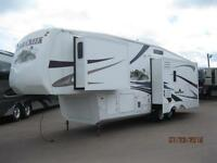WOW! Cedar Creek 32' Fifth Wheel with 3 Slides, King Bed!