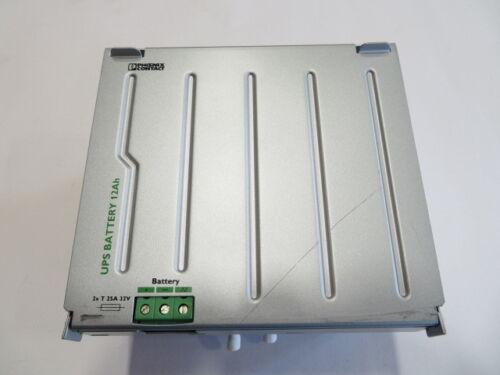 Phoenix Contact UPS-BAT/VRLA/24DC/12AH  Battery Housing