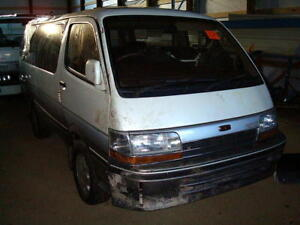 Toyota Hiace, Town Ace, Master Ace van parts for sale