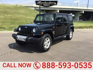 2015 Jeep Wrangler Unlimited 4WD UNLIMITED SAHARA Navigation (GP