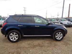 2007 NISSAN MURANO-LE-AWD-LEATHER-SUN ROOF-BACK UP CAMERA