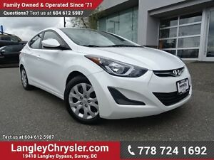2015 Hyundai Elantra GL ACCIDENT FREE w/ POWER WINDOWS/LOCKS,...