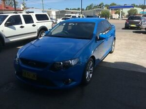2009 Ford Falcon FG XR6 Blue Sports Automatic Sedan