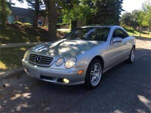 2001 Mercedes Benz Cl500 Coupe, Auto, Certified