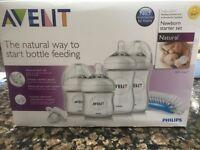 New Avent Bottles Starter pack (Unopened)