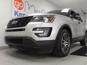 2017 Ford Explorer Sport 4WD ecoboost- Anything but base. NAV, s