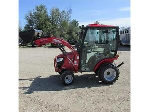 TYM 254 Hydrostatic Tractor with Yanmar Diesel Engine, Cab and L Edmonton Edmonton Area image 7