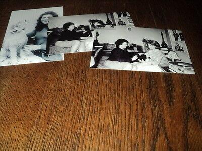 SHEILA LOT DE PHOTOS FORMAT 10*15 N&B - THEME 012 ANIMAUX - 3 PRISES
