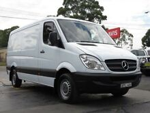 2009 Mercedes-Benz Sprinter 906 MY09 311 CDI MWB White 6 Speed Manual Van Condell Park Bankstown Area Preview
