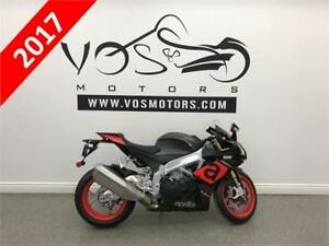 2017 Aprilia RSV4 RR- Stock#V2756- **Free Delivery in the GTA