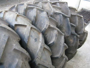 12 Inch Tractor Lug Style Tires( The First 3 On Left Sold) Kawartha Lakes Peterborough Area image 7